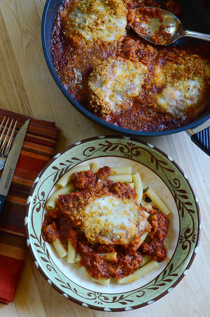 Skillet Chicken Parmesan and @Gastrolux Cookware #Giveaway!