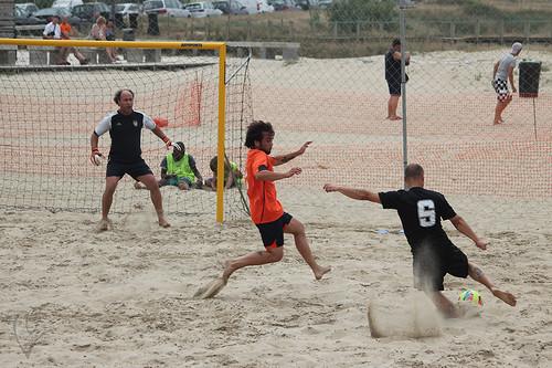 Futebol de Praia: Vitória SC - Barroselas