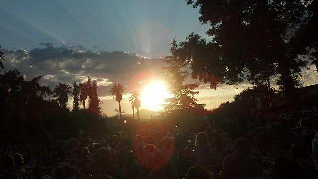 Sunset in Pasadena