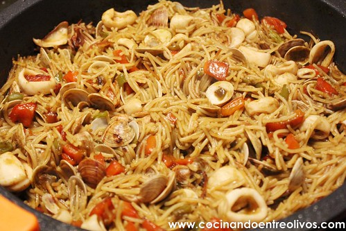 Fideua y degustabox www.cocinandoentreolivos (11)