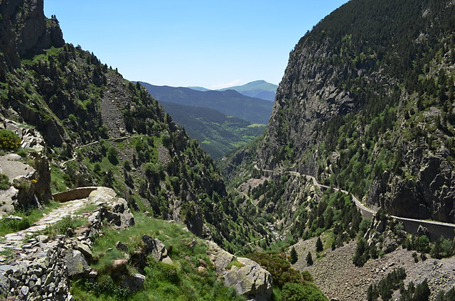 Vall de Nuria to Queralbs path