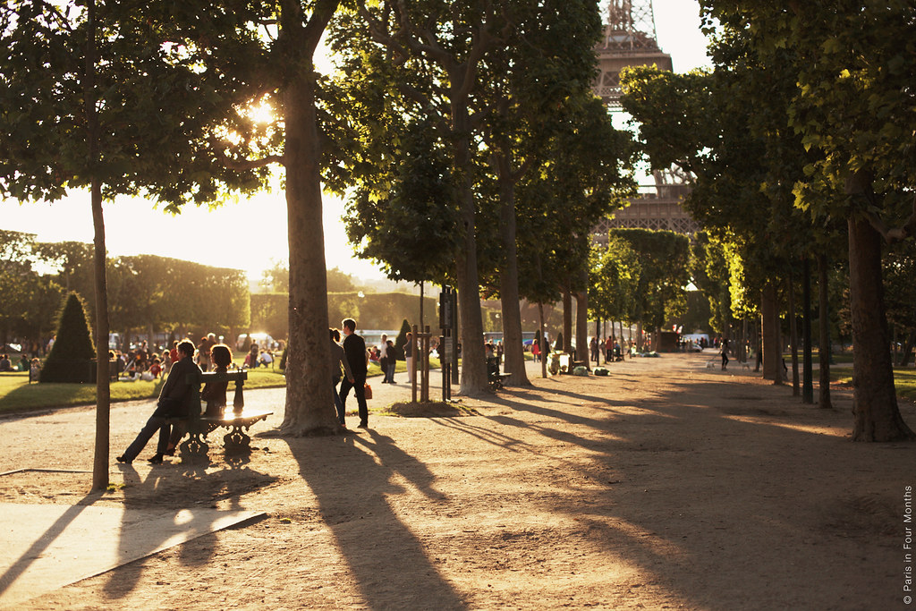 Early Evening in Paris