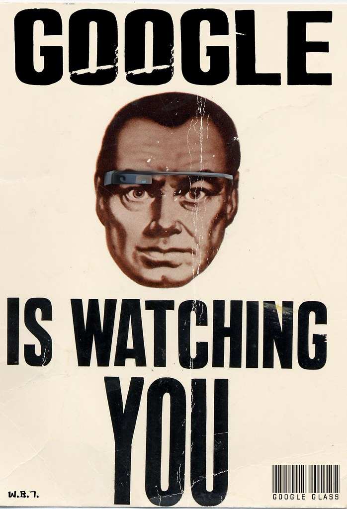 GOOGLE GLASS IS WATCHING YOU
