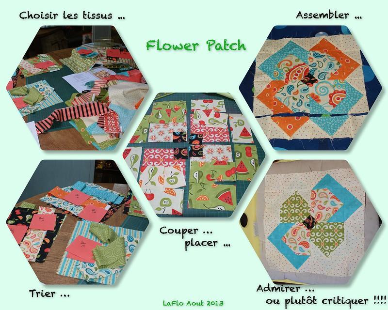 flower patch début