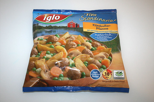 01 - Iglo Köttbullar-Pfanne - Packung vorne / Packing front