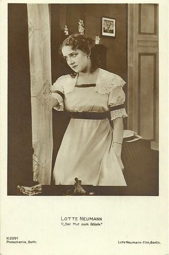 Lotte Neumann in Der Mut zum Glück