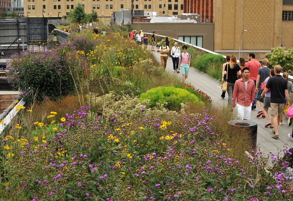 Sunday at the High Line