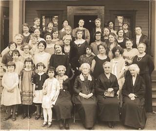 Suffragettes circa 1925