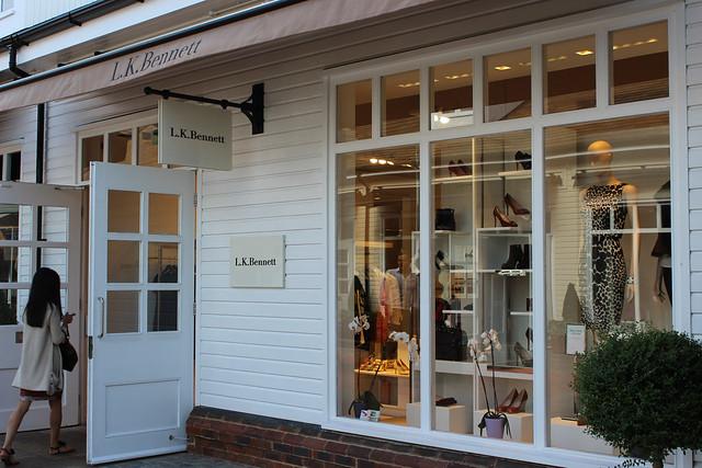 Bicester Village shops L K Bennett