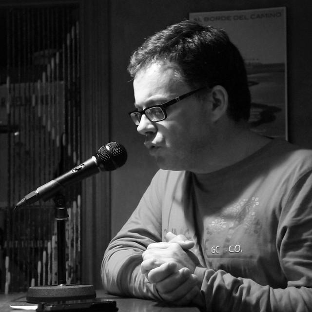 AL BORDE DEL CAMINO - HOMENAJE POÉTICO A LUIS MIGUEL RABANAL EN LEÓN - BAR BELMONDO - 06.09.13