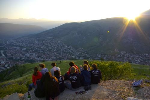 sunrise mostar hike uwc bosniaandherzegovina unitedworldcollege uwcday uwcim uwcdeutschland uwcgermany uwcde