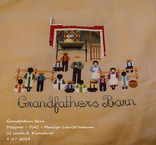 100_8870 - Grandfathers Barn - Designer - TIAG - Marilyn Leavitt Imblum - 9-27-2013