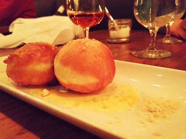 Fernet Branca jelly donuts