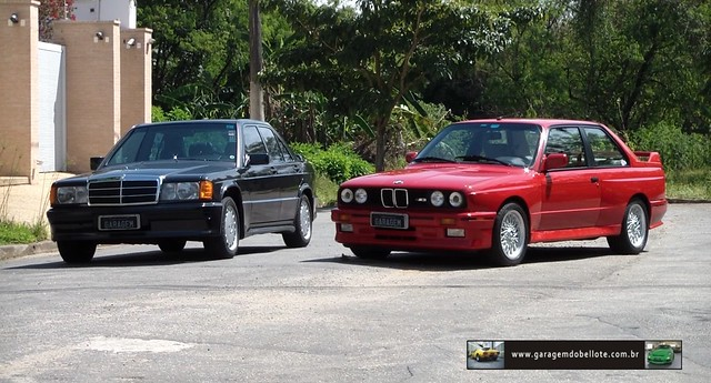 BMW M3 (E30) X Mercedes-Benz 190E 2.5-16