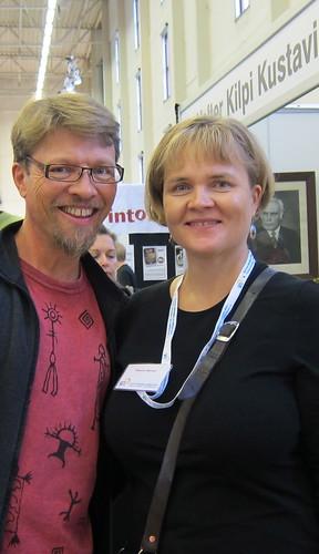 Markku Kapio ja vaimo Susanna