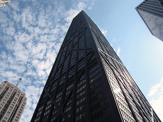 John Hancock Center and surrounding buildings