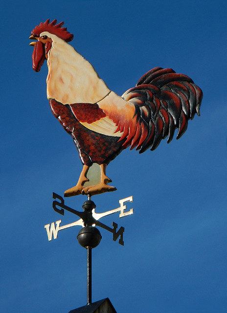 Red Rooster Winery weathervane