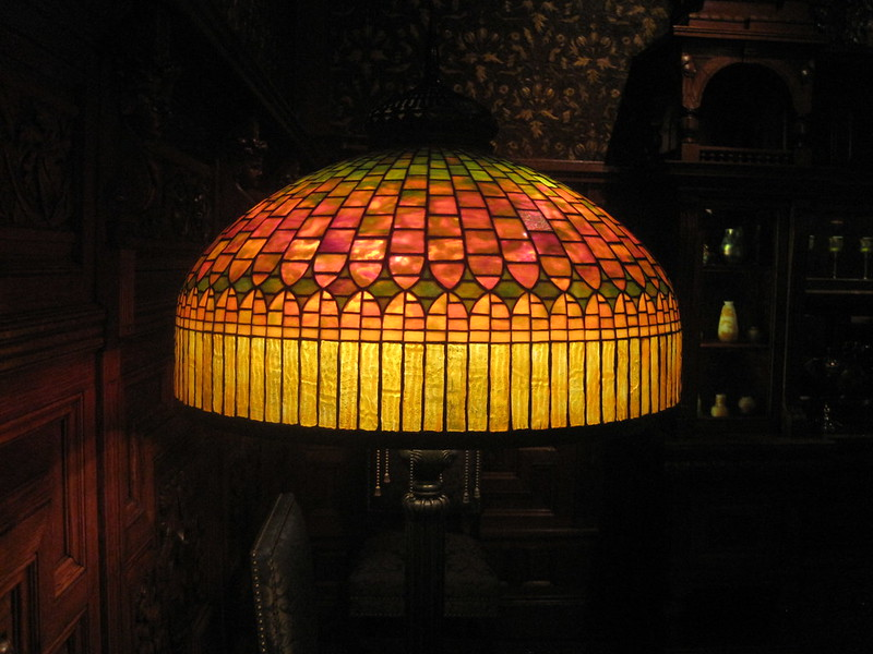 Another Tiffany lamp