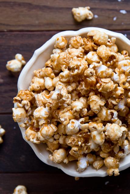 Bourbon & Salted Caramel Popcorn