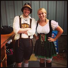Stephen & Brandy #oktoberfest