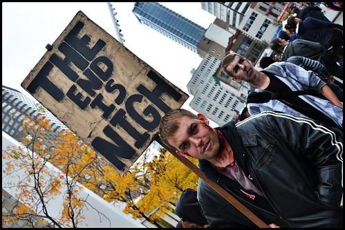 Montreal Zombie Walk 2013