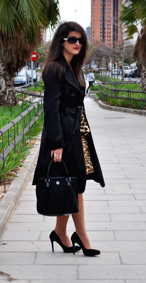 leopard peplum zara skirt, something fashion, fashion blogger wearing leopard pencil skirt, gloria ortiz shoes