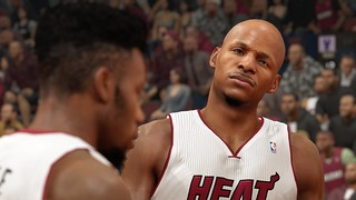 NBA 2K14 on PS4, 01