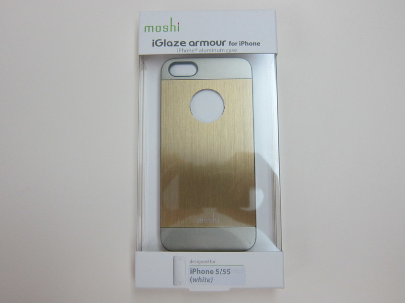 Moshi iGlaze Armour (Bronze) - Box Front