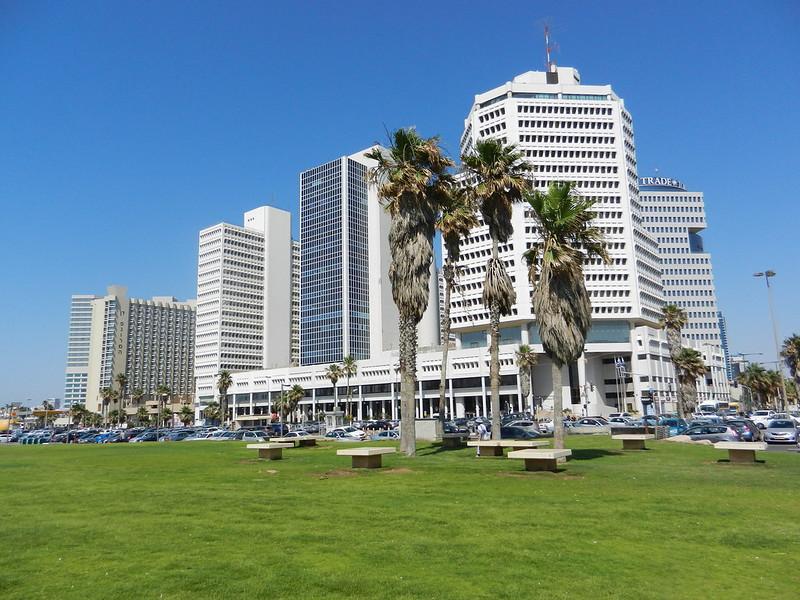 Современные постройки Тель Авива