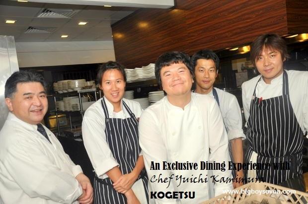 Chef Yuichi Kamimura at Kogetsu 15