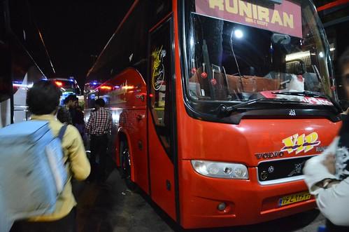 Bus en Irán