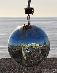 Beach Mirror Ball