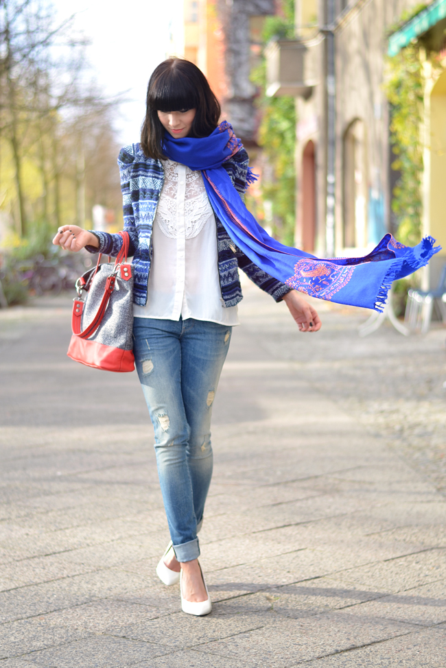Kashmir Shawl Atelier Jahn For Jahn Sojeans Outfit CATS & DOGS fashion blog Berlin 6