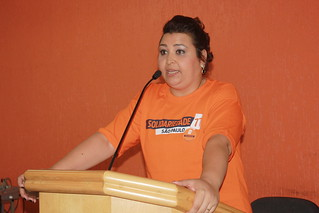 Cristina Maria, secretária da Mulher do Partido