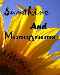 Sunshine and Monograms