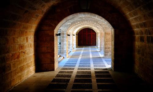 Passageway under the Palace