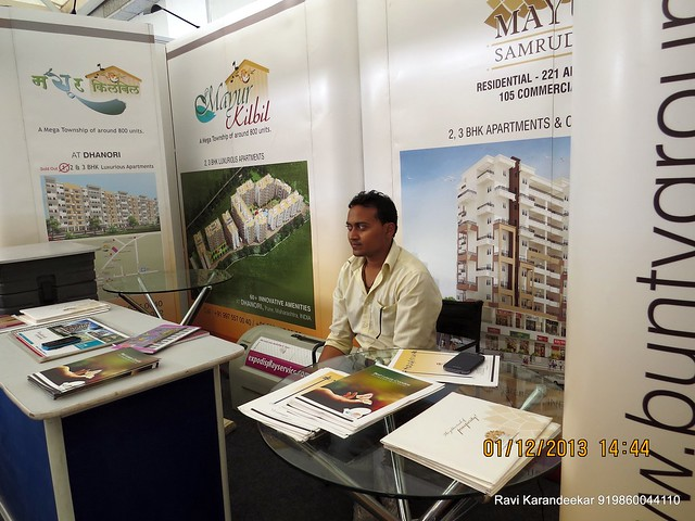 www.buntygroup.com Bunty Group Mayur Kilbil Dhanori & Mayur Sanruddhi Akurdi - 94.3 Radio One Pune  'Dream Property Expo' - Pune Property Exhibition - 30th November & 1st December 2013 at Ramee Grand Hotel, Apte Road, Pune