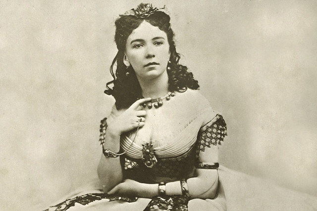 Cora Pearl, 1854