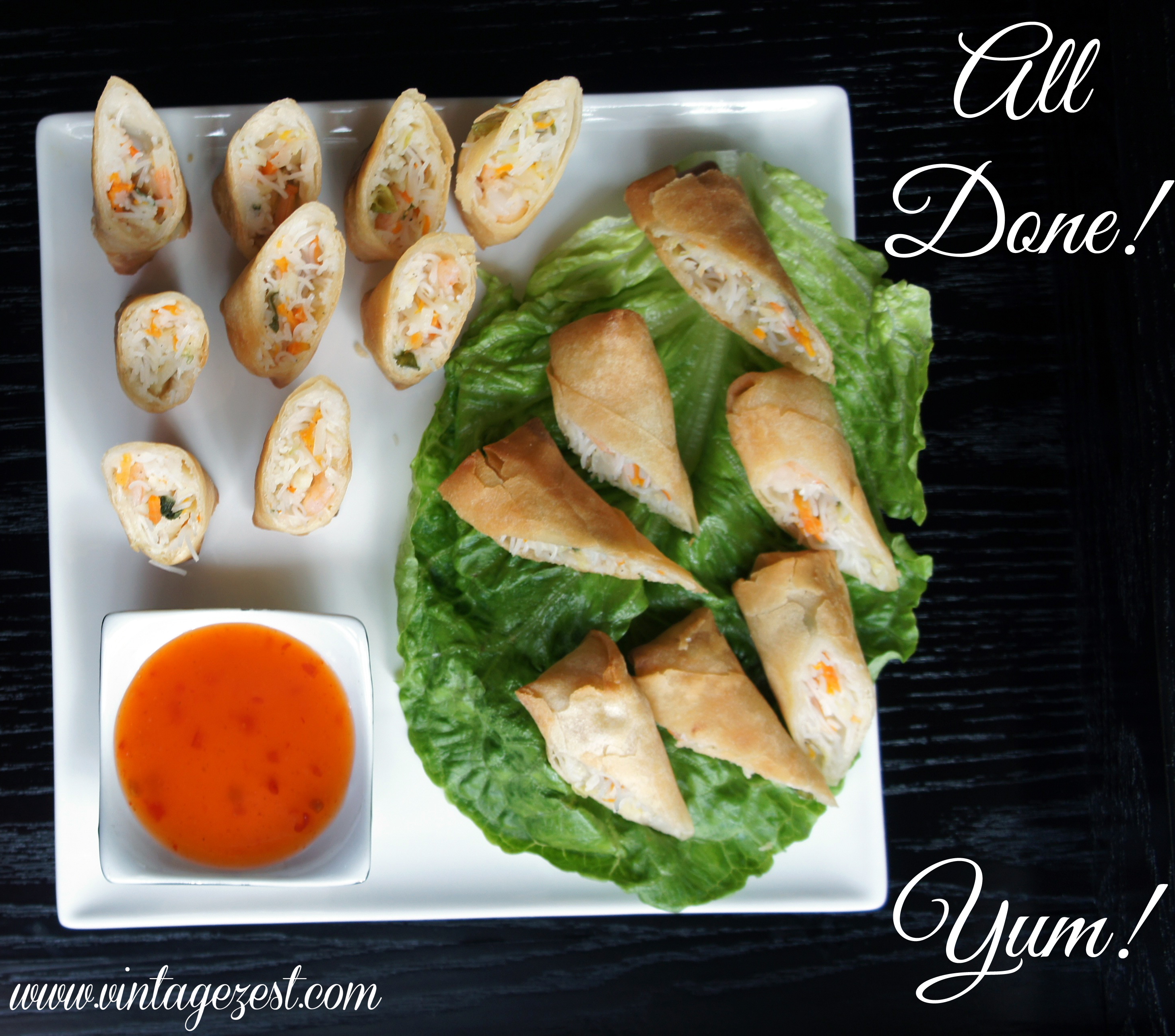SeaPak Spring Rolls Quick Holiday Appetizers #PakTheParty #shop #ad 6