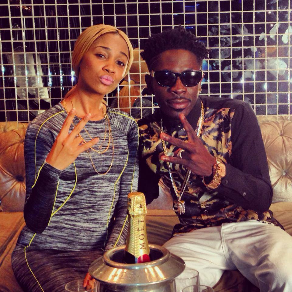 131D Black and Shatta Wale's video shoot in South Africa