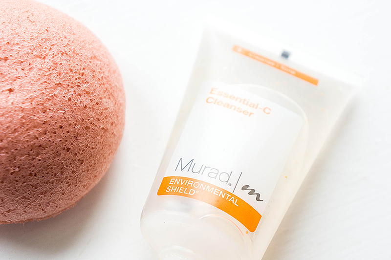Pampering Shower Time: Murad Cleanser & Konjac Sponge | www.latenightnonsense.com