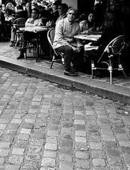 Paris Monmartre Cafe
