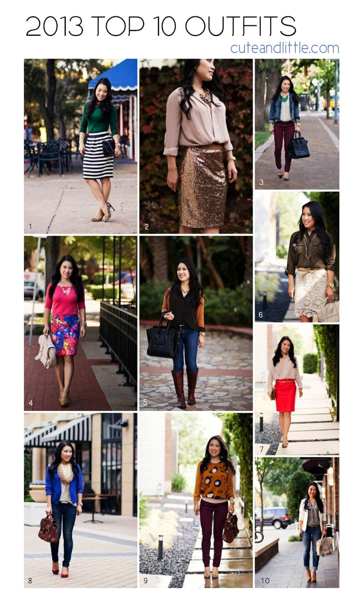 cute & little blog | top 10 outfit looks 2013