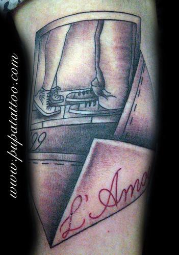 Tatuaje Polaroid Amor  Pupa Tattoo, Granada by Marzia PUPA Tattoo