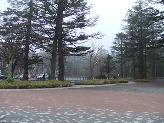 華厳の滝・入り口広場