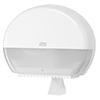 SCA 555000 Tork Mini Jumbo Toilet Roll Dispenser White