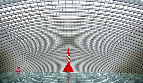 Guillemins railway station, Belgium