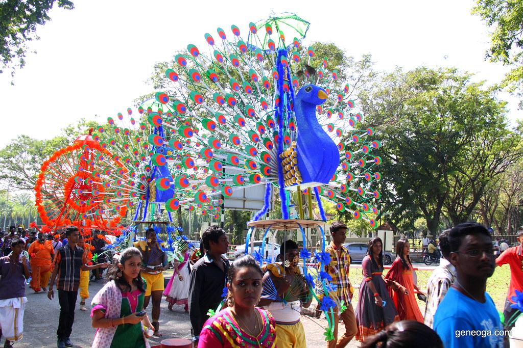 Peacock Kavadi