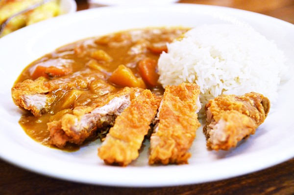 ... japanese chicken sausage curry rice salad japanese chicken curry rice