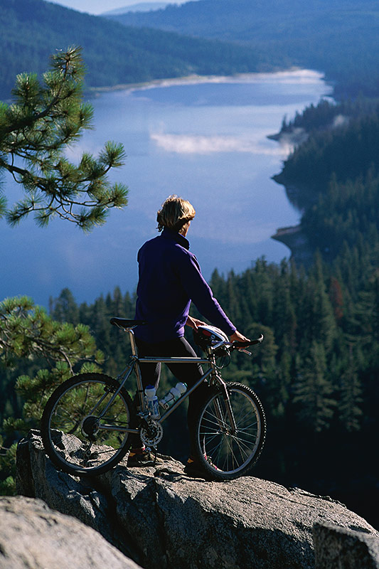 Mountain Biking; Outdoor Recreation in British Columbia, Canada